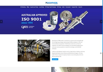 Website design for  manufacture company