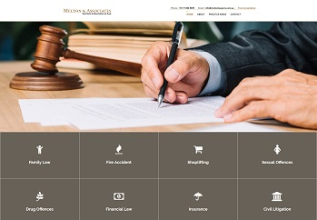 Website design for lawyers